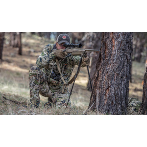 Hunter 42 Swagger Bipod being used from kneeling position