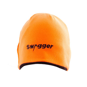 Swagger Bipod Reversible Beanie orange side