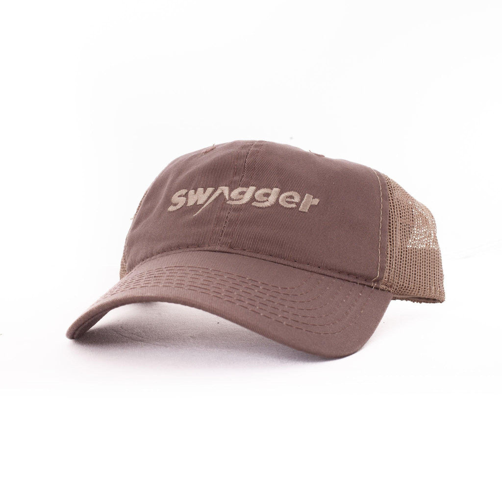 Brown Swagger Brand Hat