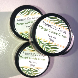 Mango Cuticle Cream