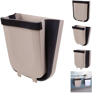 FOLDING WALL HANGING TRASH CAN