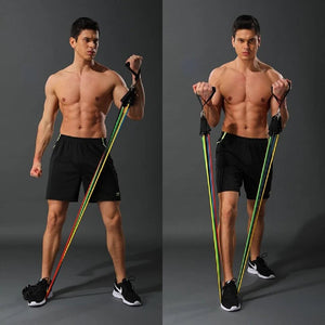 PACIFIC FITNESS - RESISTANCE BANDS SET