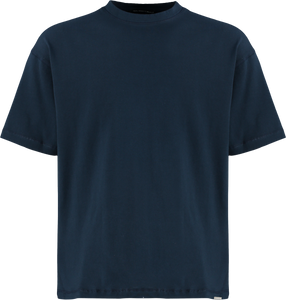 NAVY OVERSIZED T-SHIRT