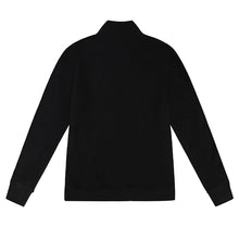 Load image into Gallery viewer, ROYAL PRESS-STUD BLACK SILVER BOMBER JACKET