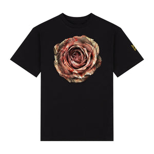 MONEY ROSE TEE - BLACK
