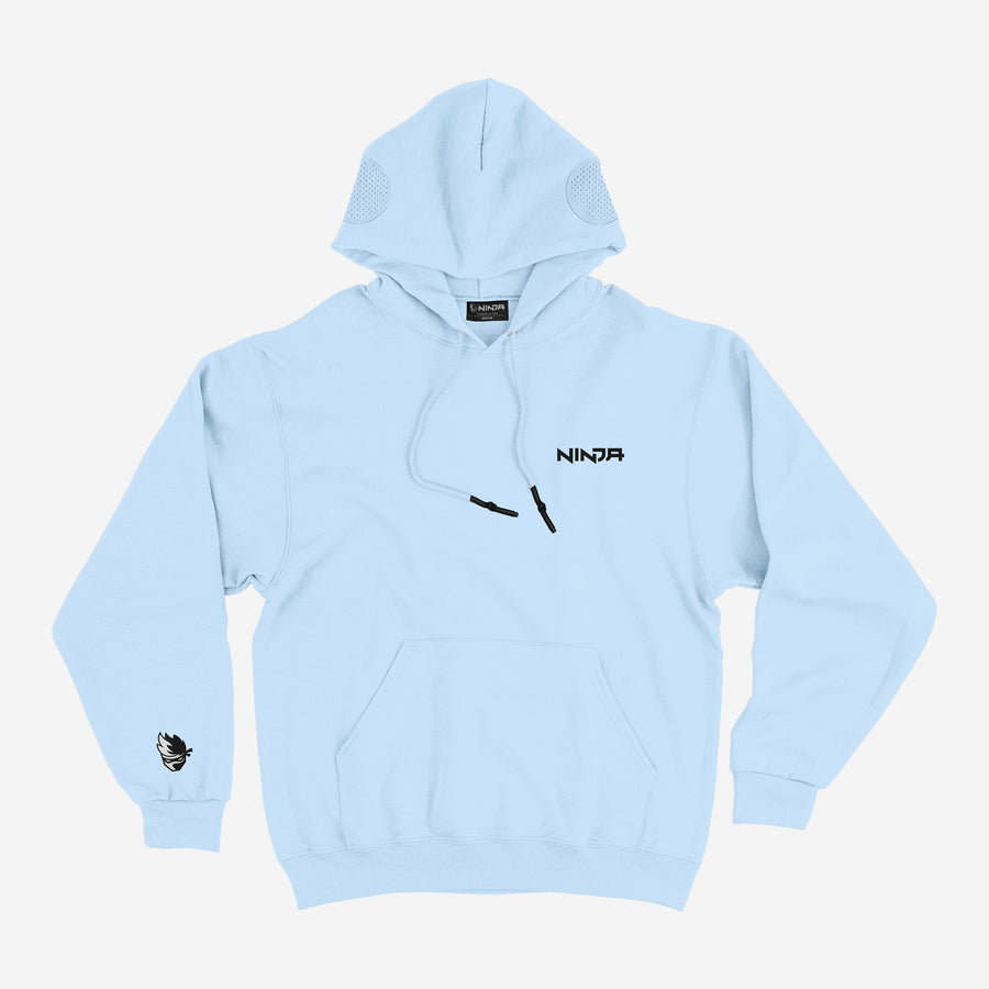 Ninja Gamer Light Blue Hoodie