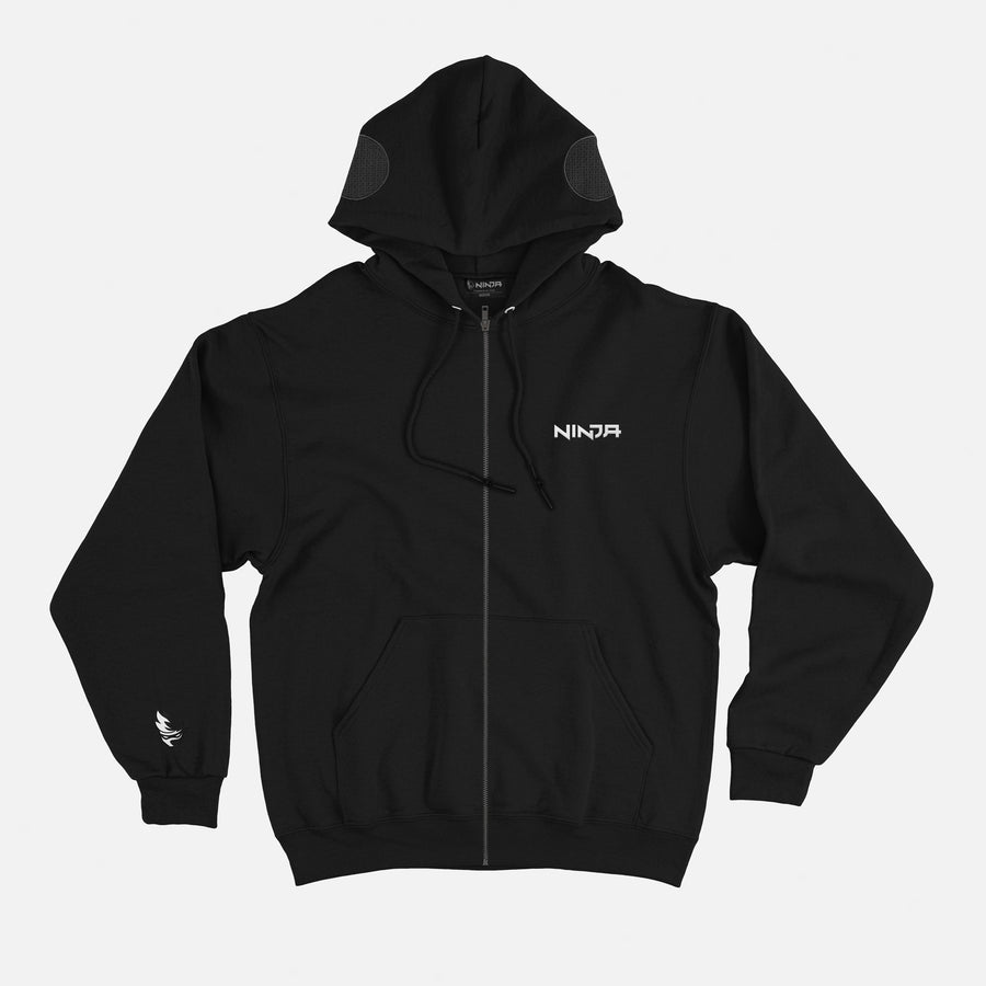 Gamer Midnight Zip Up Hoodie