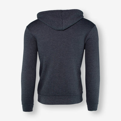 Grey Patch Zip Up
