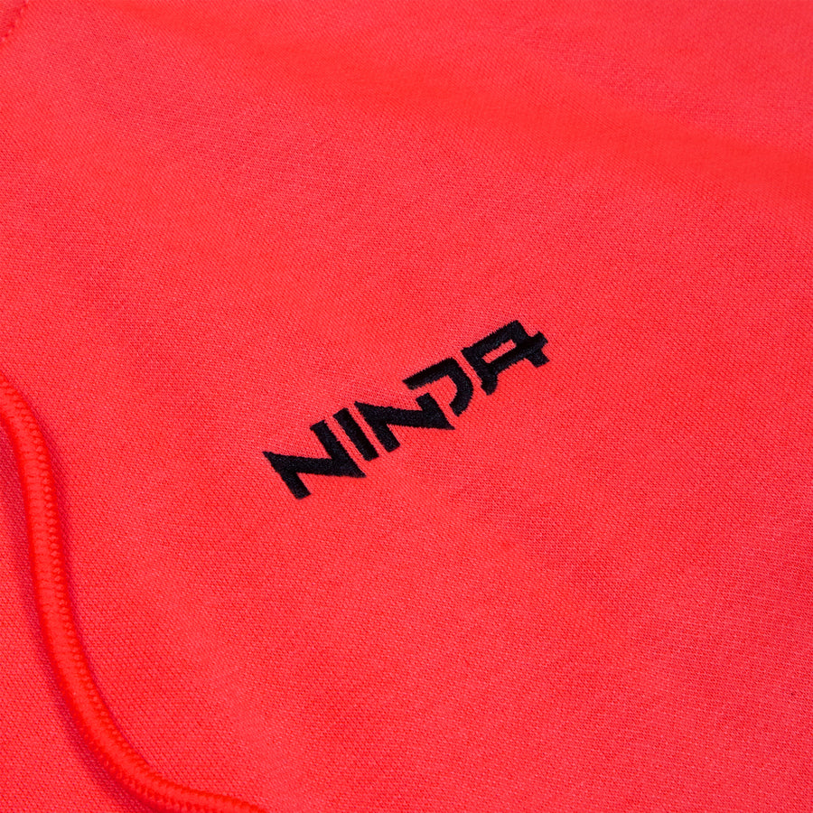 Ninja Gamer Electric Red Hoodie