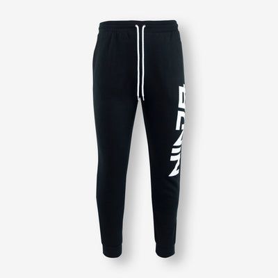Black Essential Joggers