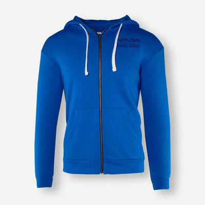 Blue On Blue Zip Up