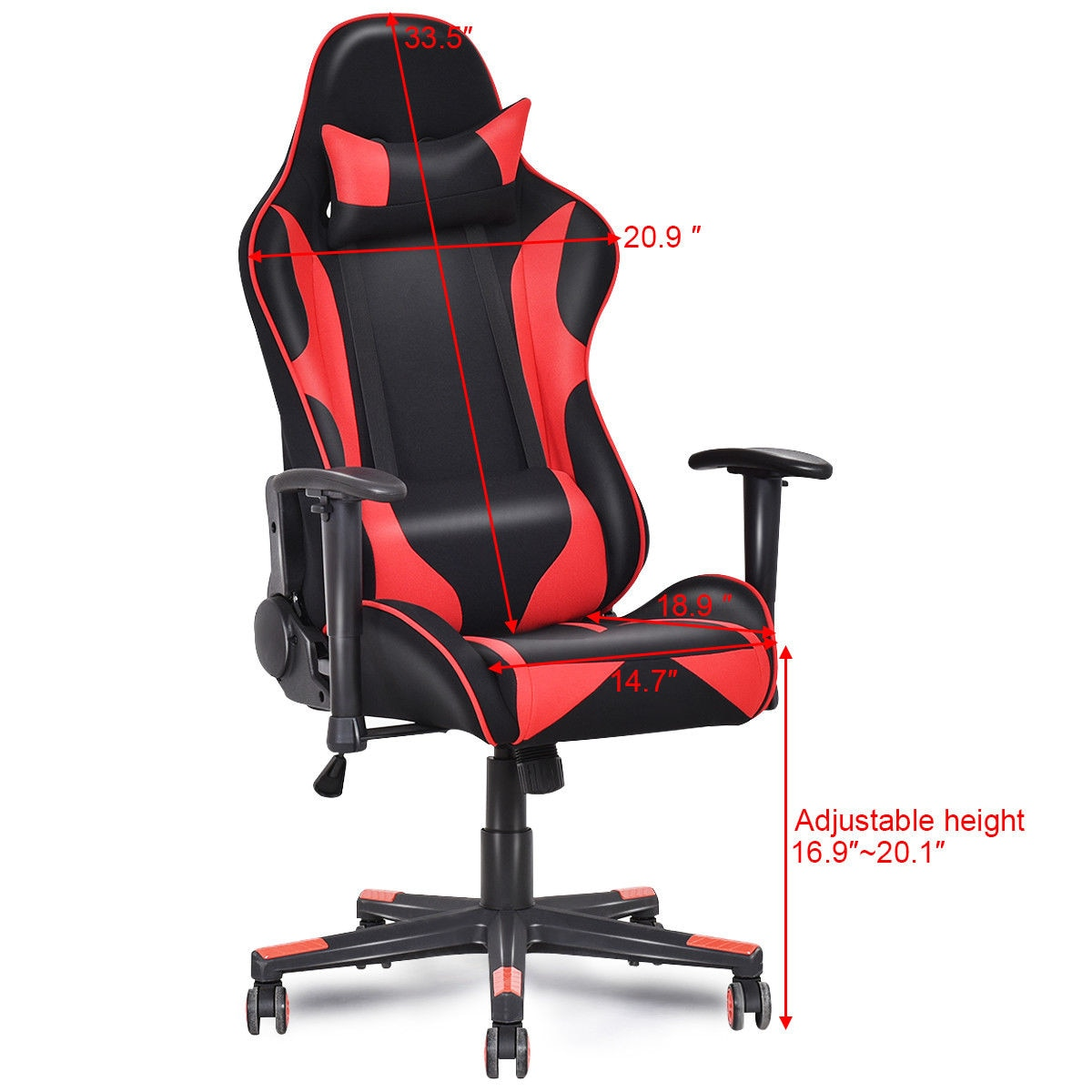 Awe Inspiring Giantex Racing Style High Back Recliner Gaming Chair Modern Mesh Swivel Computer Office Chair Ergonomic Office Furniture Hw55608 Ocoug Best Dining Table And Chair Ideas Images Ocougorg