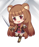 Raphtalia Chibi - The Rising of the Shield Hero