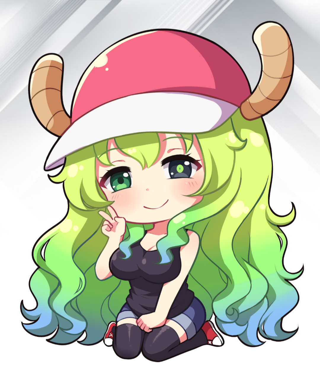 Lucoa Chibi - Dragon Maid