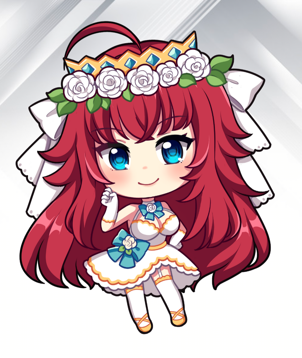 Rias - Wedding Chibi - Decal
