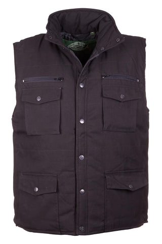 Black - 1722 Mens Bodywarmer