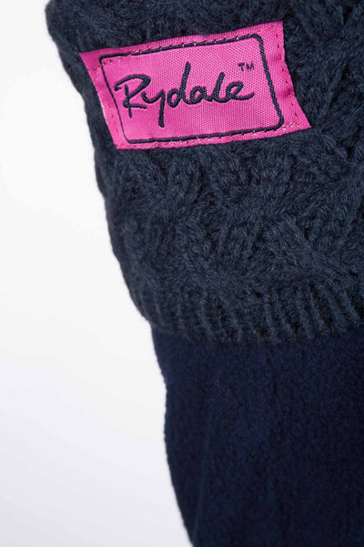 Navy - Cable Knit Boot Liner