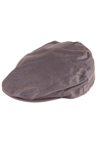 Wax Cotton Flat Cap