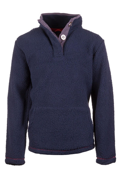 Navy - Boys Fun Fleece