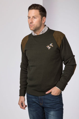 Crew Neck Shooting Sweater