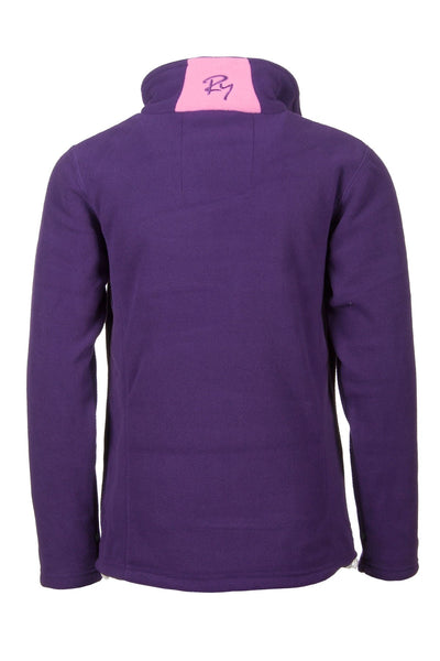 Purple - Junior Full zip Fleece Jacket