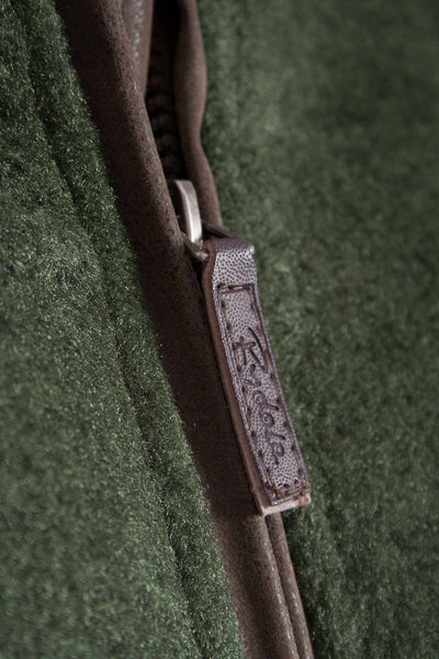 Dark Olive - Egton Full Zip Fleece