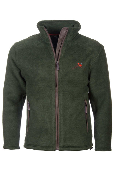 Dark Olive Pheasant - Egton Full Zip Fleece