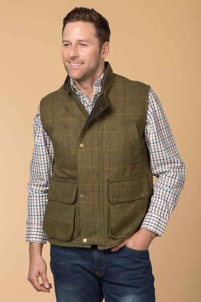 Dark Check - Derby Tweed Gilet