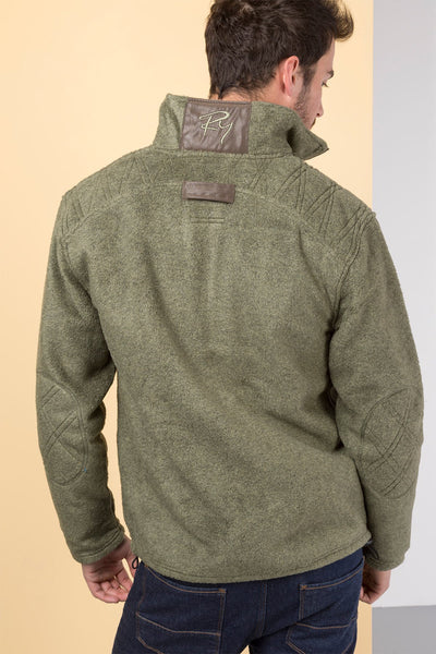 Light Olive Pheasant - Egton Full Zip Fleece