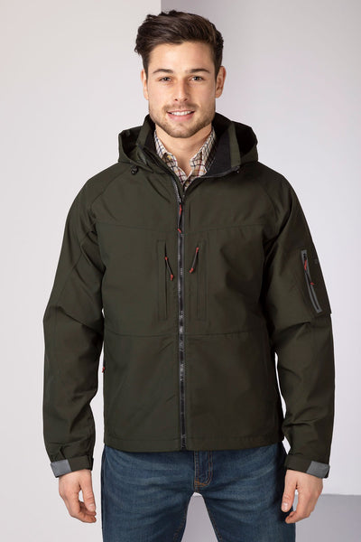Dark Olive - Men's Egton Hiking Jacket