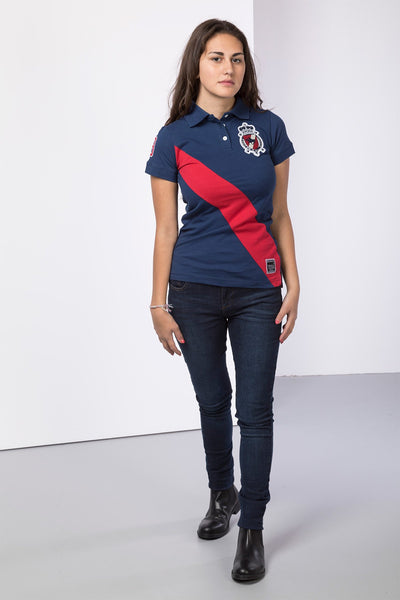 Navy - Ladies Emma Polo Shirt