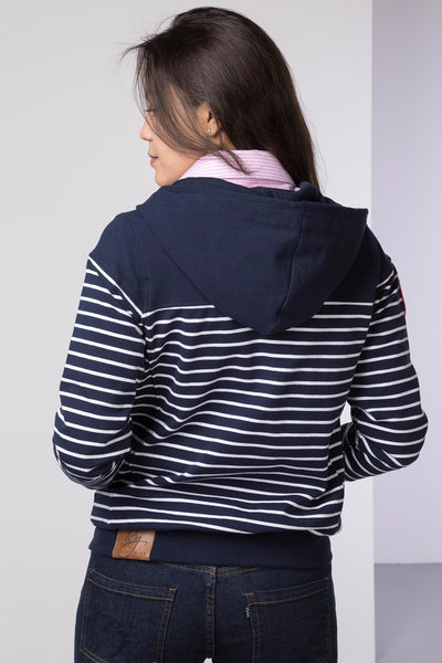 Navy - Etton II Full Zip Hoody