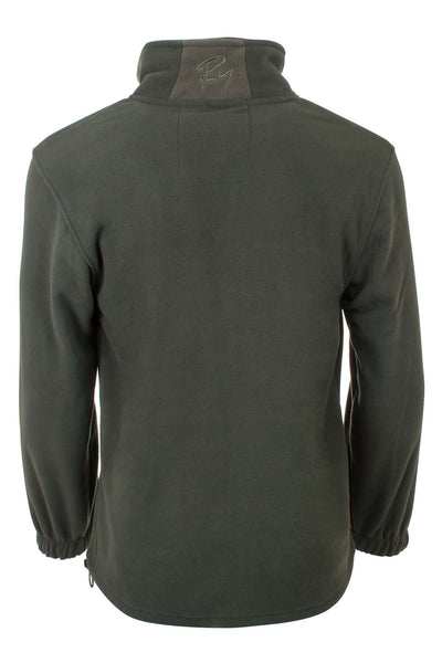 Dark Olive - Mens Full Zip Fleece Jacket