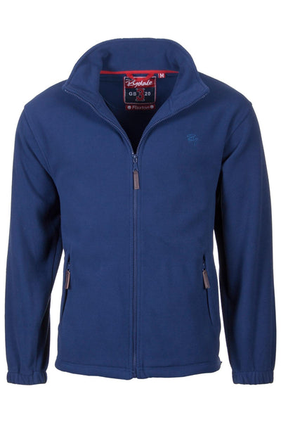 Denim Marl - Mens Full Zip Fleece Jacket
