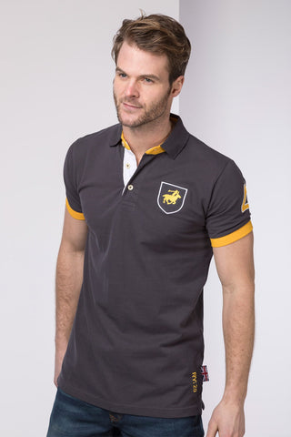 Carbon - Mens Fordon II Polo Shirt