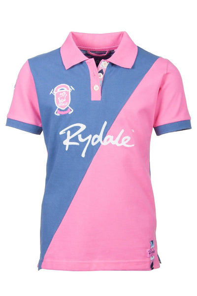 Candy/Jblue - Rydale Juniors Girls Polo Shirts