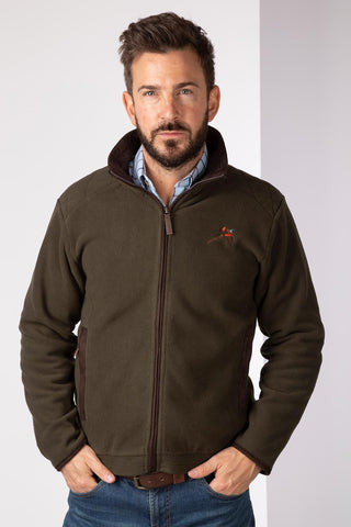 Olive Pheasant - Gembling Full Zip Shooting Fleece