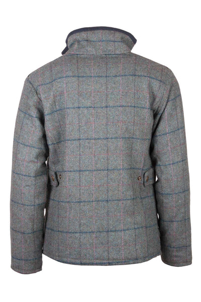Blue Check - Girls Tweed jacket