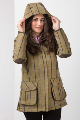 Helmsley Tweed Coat