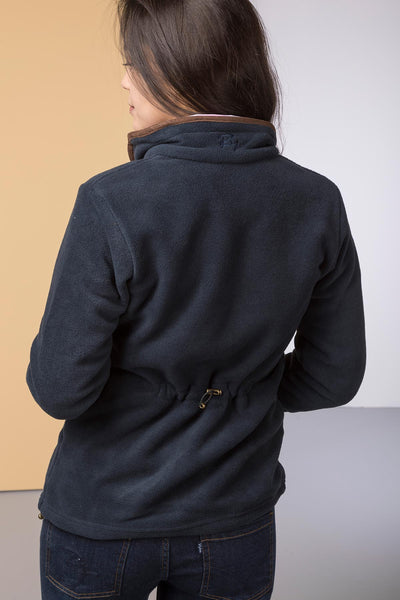 Navy - Ladies Huggate Fleece Jacket