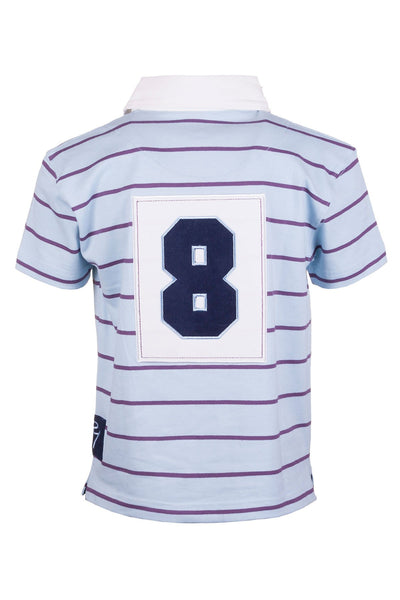 Icicle/Bramble - Junior Short Sleeve Rugby Shirt