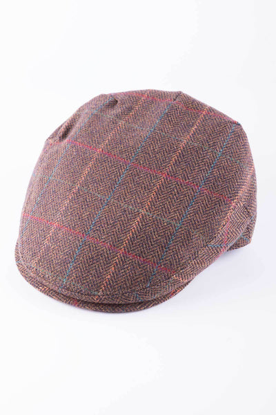 Pattern 25 - Keepers Tweed Flat Cap