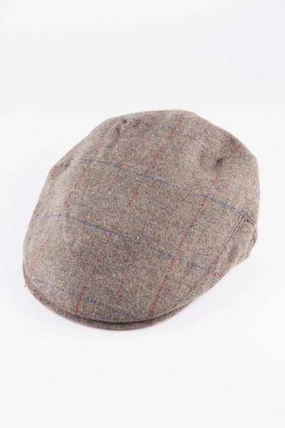 Pattern 17 - Keepers Tweed Flat Cap