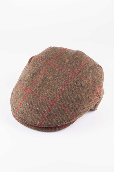 Pattern 18 - Keepers Tweed Flat Cap