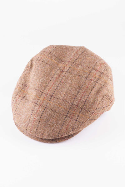 Pattern 6 - Keepers Tweed Flat Cap