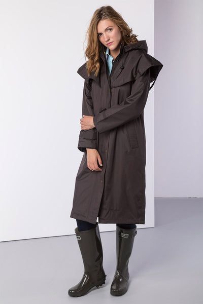 Dark Brown - Ladies Knapton II Riding Coat