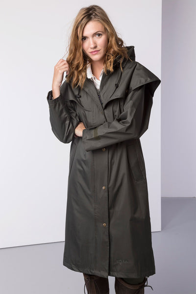 Dark Olive - Ladies Knapton II Riding Coat