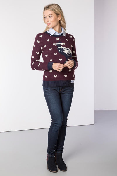 Berry - Ladies Christmas Sweater
