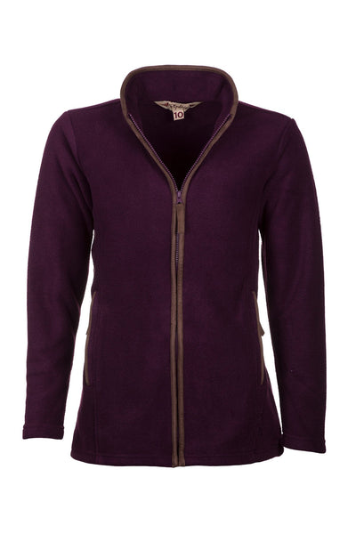 Berry - Ladies Huggate Fleece Jacket