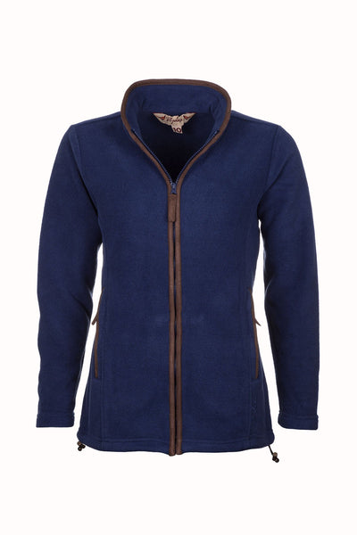 Dark Denim - Ladies Huggate Fleece Jacket